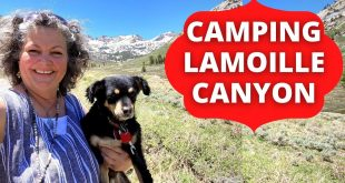 Camping-in-Lamoille-Canyon-in-the-Ruby-Mountains-Humboldt-Toiyabe-NF-Nevada-Pt-1