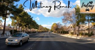 Whitney-Ranch-Henderson-Nevada-Driving-Sunset-Road-Russell-Road-Drive-Tour-4K